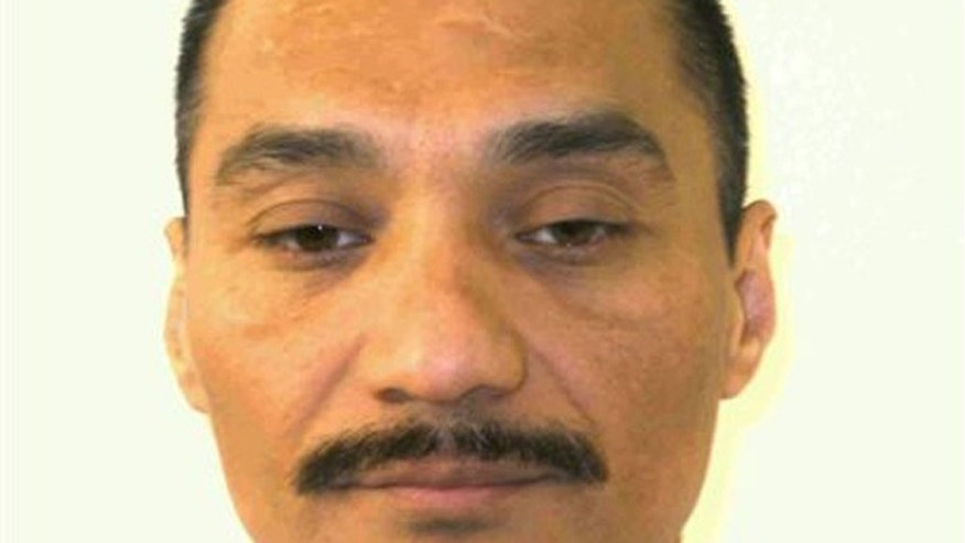 This undated photo provided by the Virginia Department of Corrections shows inmate Alfredo Prieto.