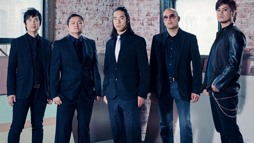 This undated photo shows the bland 'The Slants'. (American Civil Liberties Union)