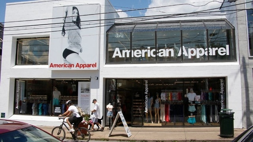 This undated photo shows an American Apparel store in Pittsburgh. (Keith Srakocic/AP)