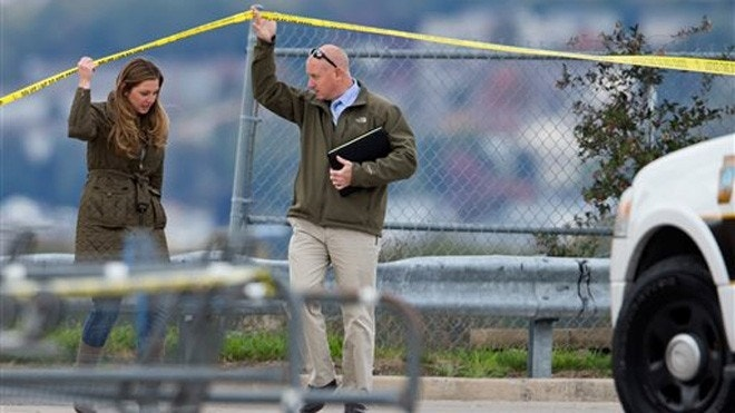 Suspect wounded in shootout with police at Pennsylvania Walmart
