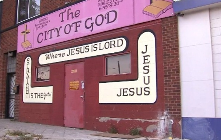 Cops said a pastor at City of God church in Detroit shot a man who was threatening him.
