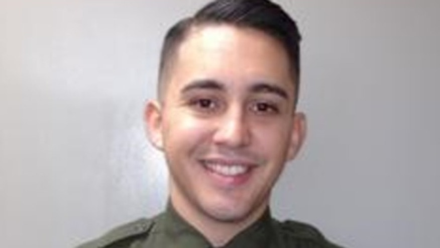 California Sheriff's Custody Assistant Jesse Hernandez helped save 42 people stuck on a burning bus.
