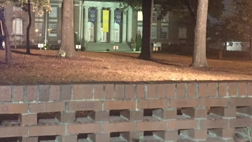 A student was shot and killed near Miles College in Alabama. (Clare Huddleston/WBRC)