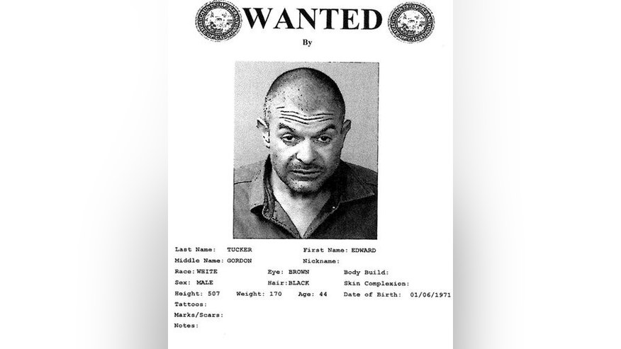 This poster provided by the Kern County, Calif., Sheriff's Department shows Deputy Edward Tucker. (Kern County Sheriff via AP)
