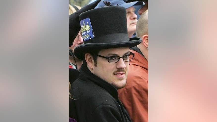 Christian Day, a self-proclaimed warlock, in 2005. (AP Photo/Michael Dwyer, File)