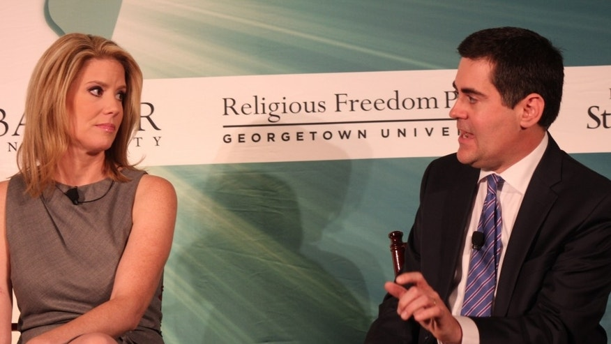 Kirsten Powers and Russell Moore. (Christian Post/Napp Nazworth)