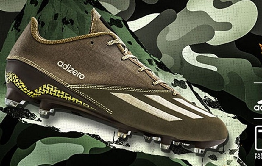 Adidas' new football cleat is inspired by Tillman and the Army Rangers. (Adidas)