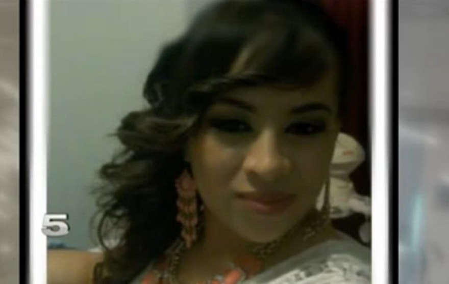 The baby's mom, Saida De La Torre, told KRGV-TV that she was horrified when she learned the Mexican soldiers were pursuing her vehicle. (Courtesy: KRGV-TV)