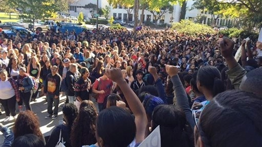 Berkeley High School students Thursday.