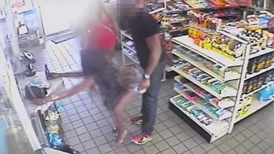 D.C. police release surveillance video of an alleged sexual assault that took place at a gas station on Oct. 7.