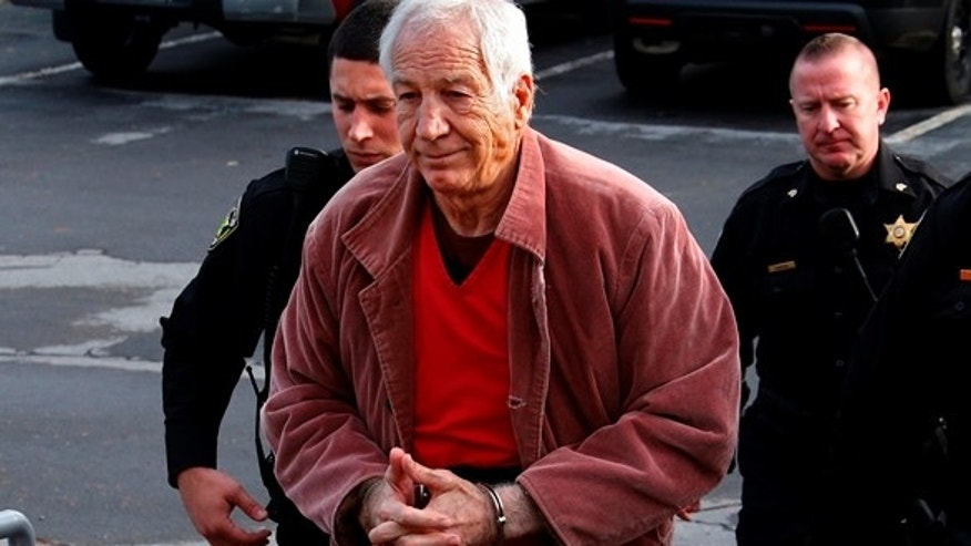 Jerry Sandusky in October.