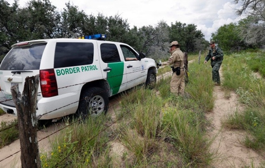 "Two Syrian families ""presented themselves"" to Border Patrol officials in the Laredo, Texas, sector, according to a DHS spokeswoman. (AP)"