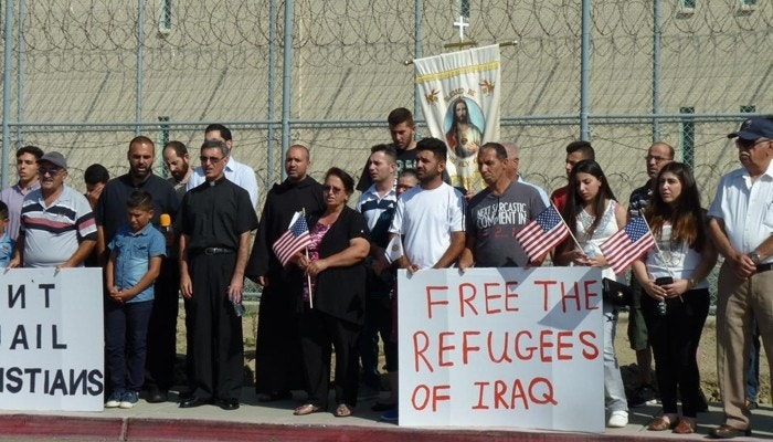 While DC debates religion, refugees, Iraqi Christians feel Uncle Sam's boot