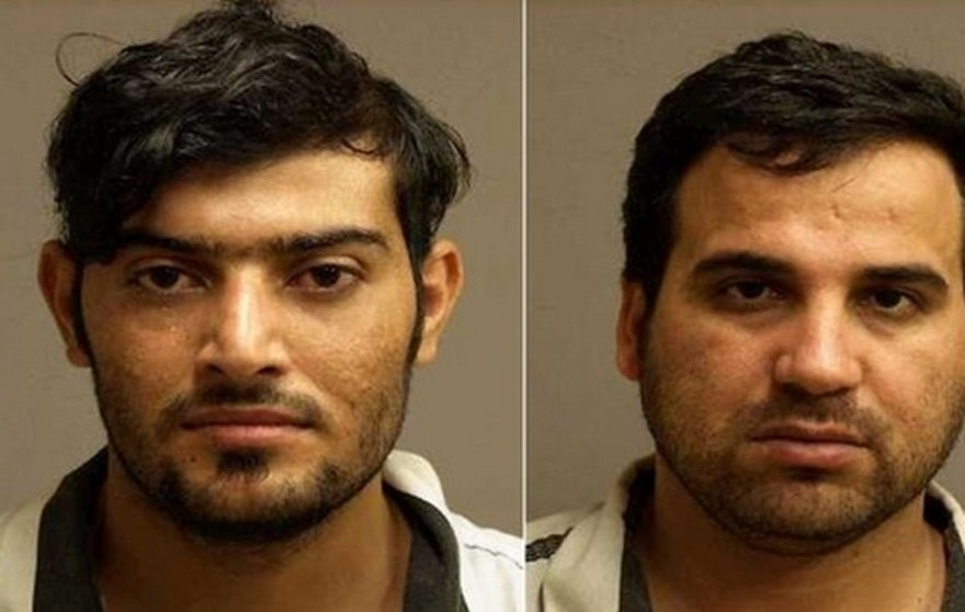 Mohanad Shareef Hammadi, (l.), and Waad Ramadan Alwan, (r.), entered the U.S. as Iraqi refugees after helping build IEDs used against American forces in Iraq.