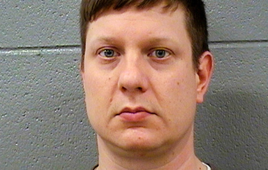 Nov. 24, 2015: Photo released by the Cook County Sheriff's Office shows Chicago police Officer Jason Van Dyke, who was charged Tuesday with first degree murder in the killing of 17-year-old Laquan McDonald on Oct. 20, 2014.