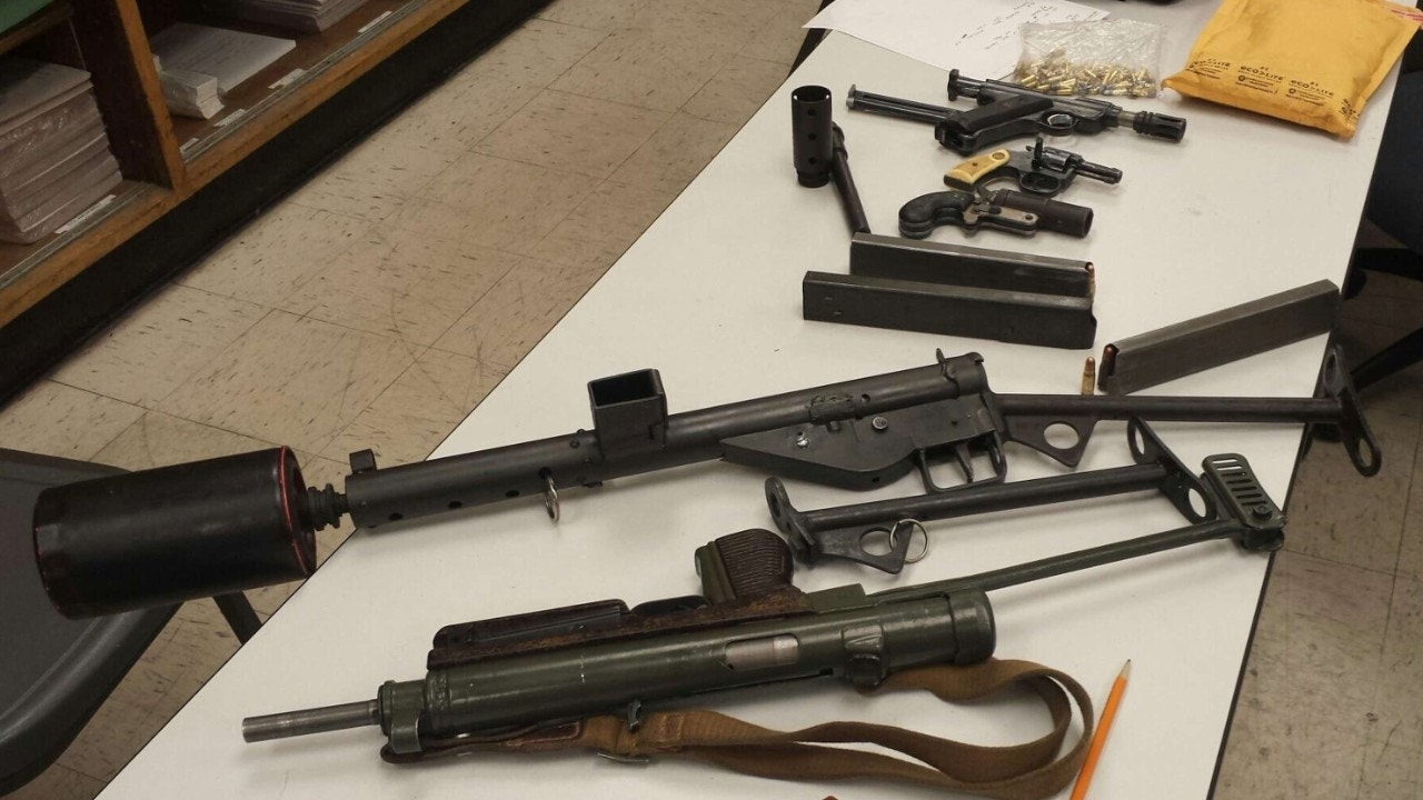 Los Angeles authorities arrest homeless man with cache of firearms