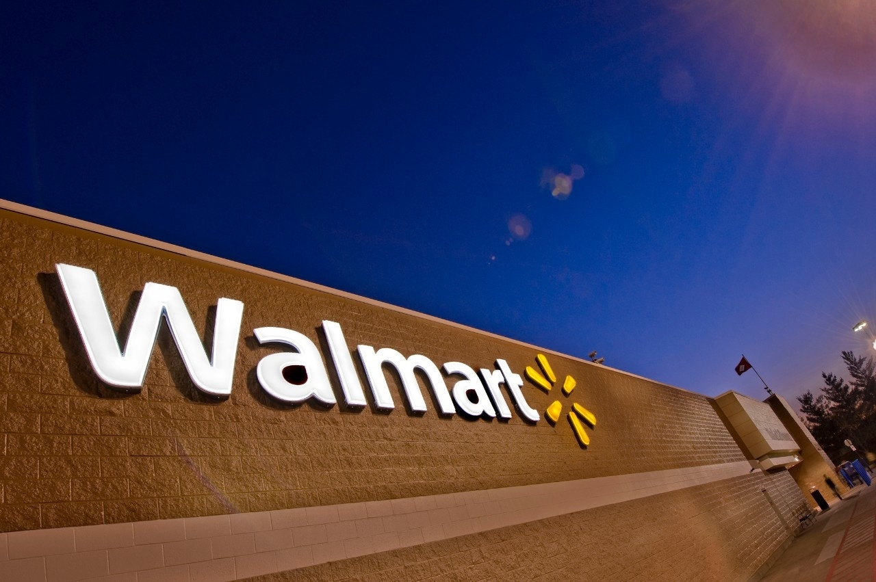 Walmart worker claims he was fired for turning in found cash too slowly