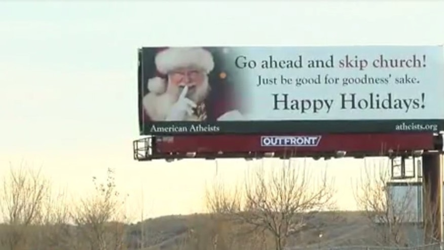 Billboard in Colorado Springs.