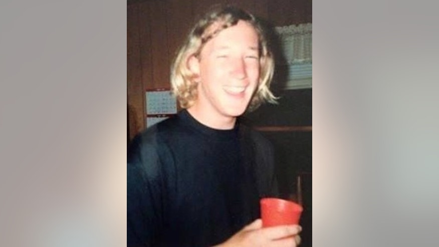 This undated photo posted on a Facebook page devoted to the 'Grateful Doe' case shows Jason Patrick Callahan, who was identified Thursday, Dec. 10, 2015 as a passenger killed in a 1995 car accident near Emporia, Va.