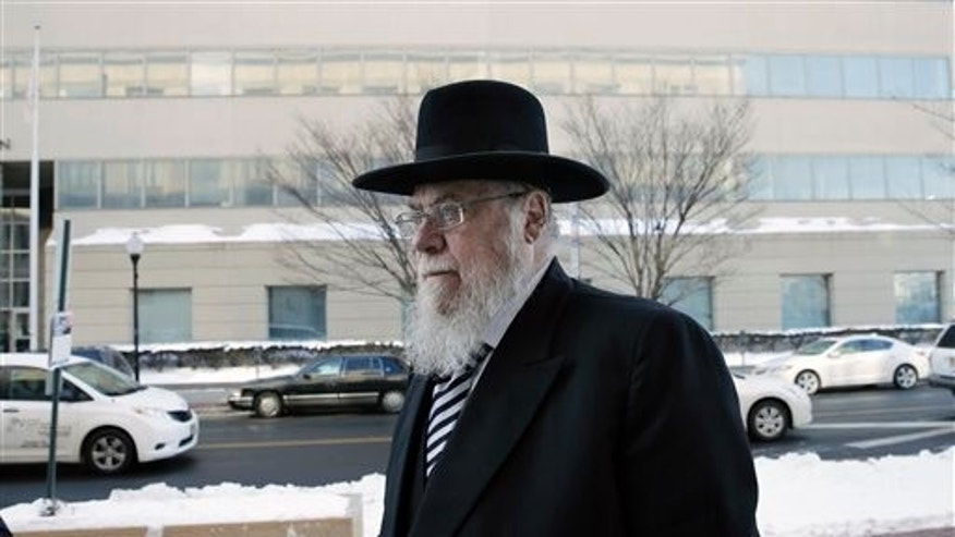 Rabbi Mendel Epstein in February.