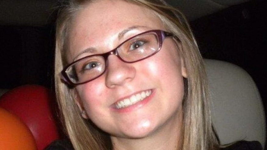 This undated photograph show Jessica Chambers, who died after being set on fire in Courtland, Miss. on Dec. 6, 2014.