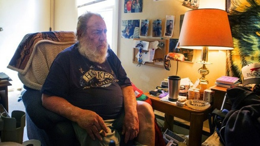 Harvey Lamb, 67, bought a gun to defend himself and ended up shooting an intruder less than a day later. (Ashley Conti/ Bangor Daily News)