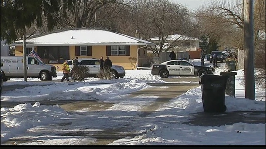 Jan 6, 2016: Police respond to the area of an officer-involved shooting in Zion, Ill. (WFLD)