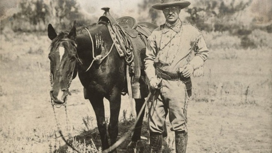 Teddy Roosevelt fell in love with the Badlands during a hunting trip in the 1880s, according to historians.