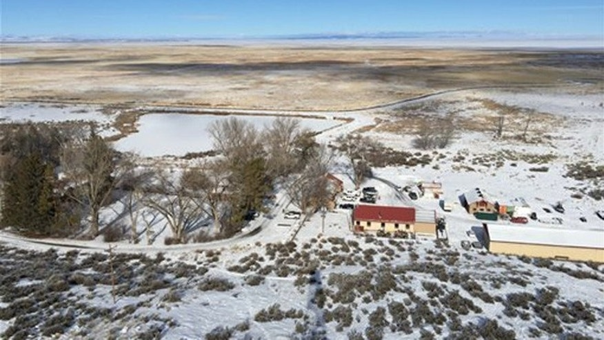 The Malheur National Wildlife Refuge near Burns, Ore., is seen from atop an old fire lookout on Friday, Jan. 15, 2016. A small, armed group has been occupying the refuge since Jan. 2 to protest federal land use policies. (AP Photo/Keith Ridler)