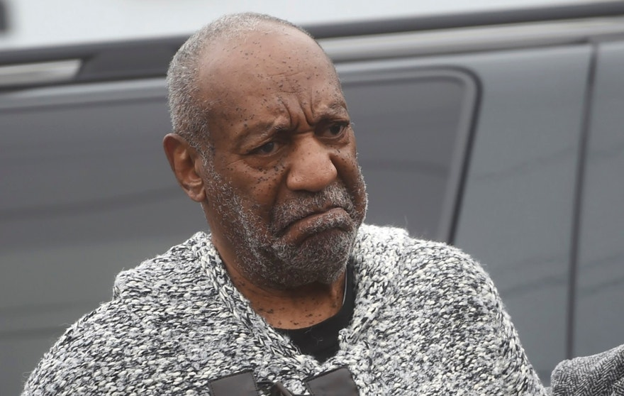 December 30, 2015. Actor and comedian Bill Cosby (C) arrives for his arraignment on sexual assault charges at the Montgomery County Courthouse in Elkins Park, Pennsylvania.