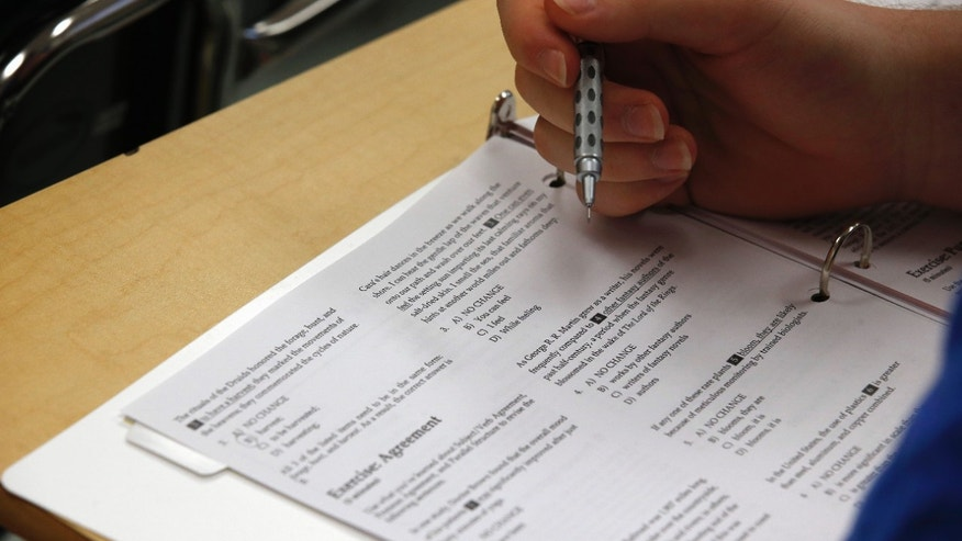 The current version of the SAT college entrance exam is having its final run. A new, revamped version debuts in March.