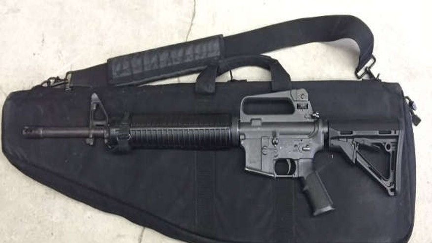 Photo shows AR-15 rifle similar to what an OCSO patrol deputy lost.