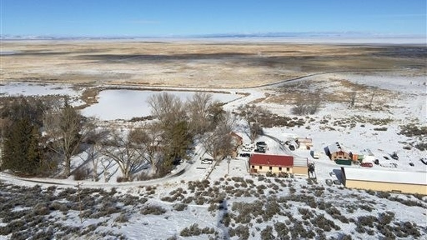 The Malheur National Wildlife Refuge near Burns, Ore., is seen on Friday, Jan. 15, 2016. A small, armed group has been occupying the refuge since Jan. 2 to protest federal land use policies. (AP Photo/Keith Ridler)