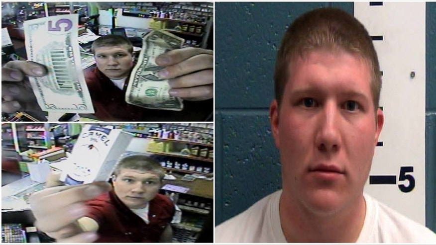 Police say Ellis C. Battista broke into a conveniance store to steal cigarettes.