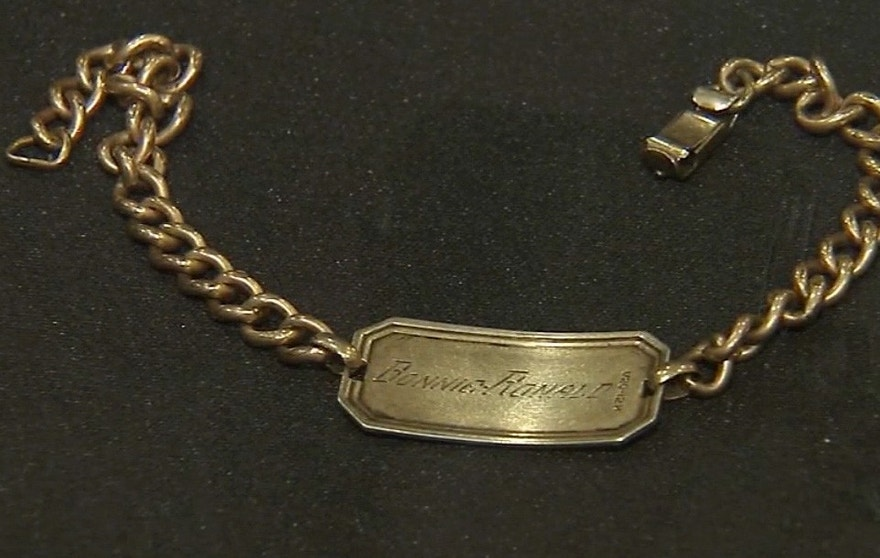 WW II lost bracelet file