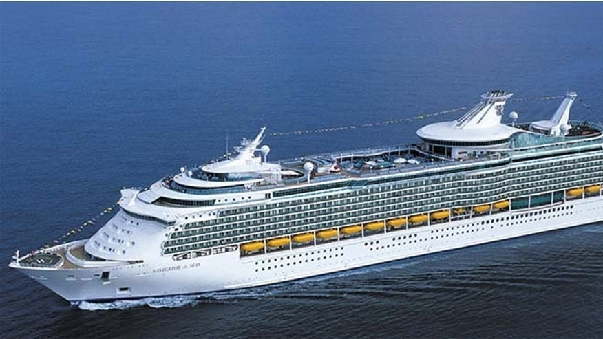 This undated image shows Royal Caribbean's Navigator of the Seas cruise ship. (Royal Caribbean)