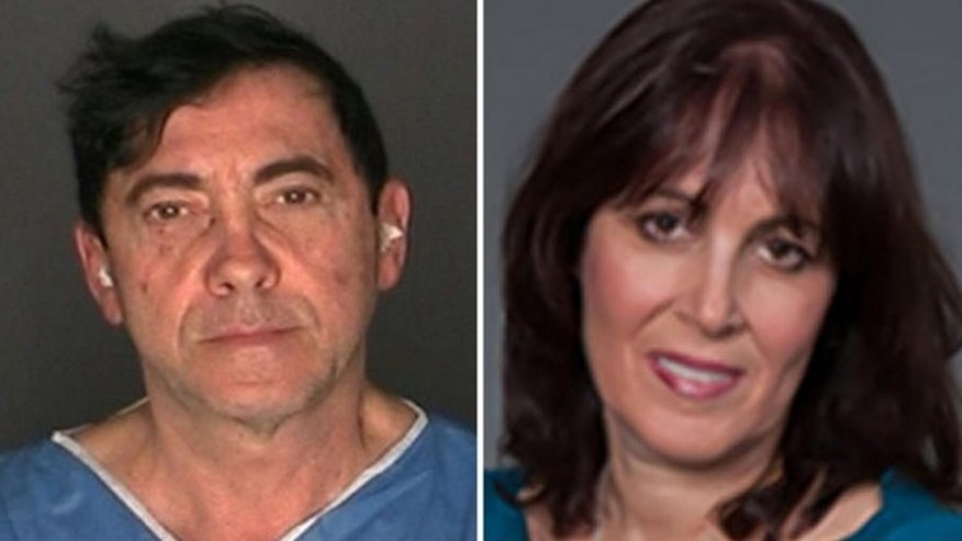 Julius Reich, left, is charged in the death of Dr. Robin Goldman.