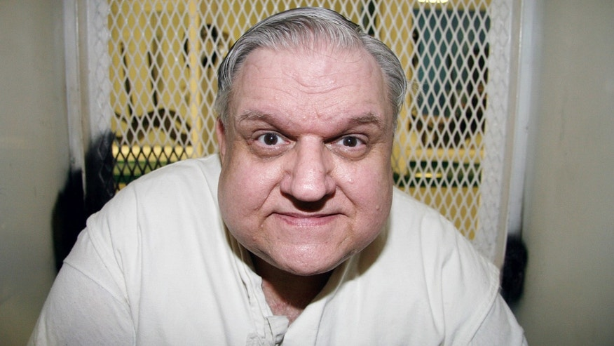 Feb. 3, 2016: Death row prisoner Coy Wayne Wesbrook is photographed at the Texas Department of Criminal Justice Polunsky Unit outside Livingston, Texas. (AP Photo/Michael Graczyk)