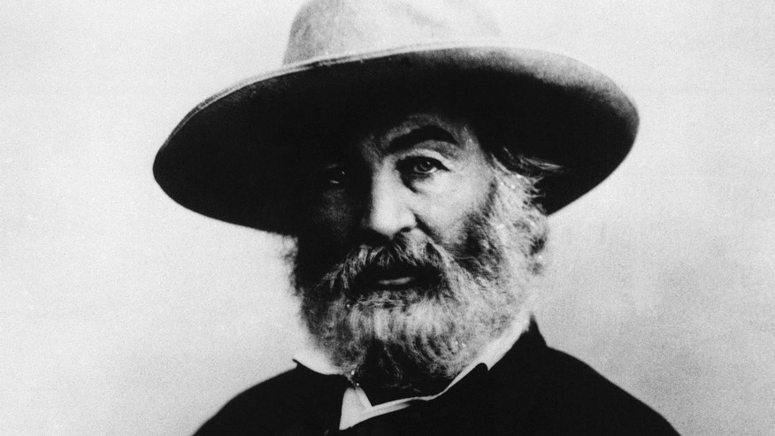 In this undated image provided by The Library of America, American writer Walt Whitman is seen.