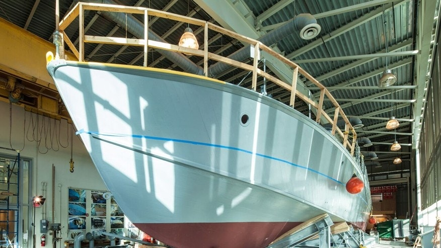WWII veterans aim to relive history as PT boat's restoration nearly complete
