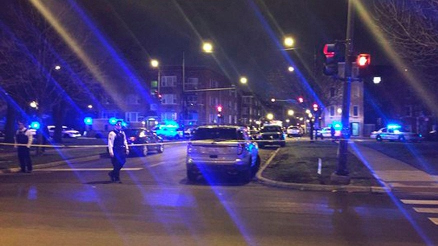 March 14, 2016: Three Chicago police officers were shot in the East Garfield Park neighborhood on the city's West Side
