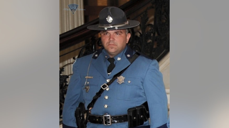 Massachusetts State Police trooper Thomas Clardy.