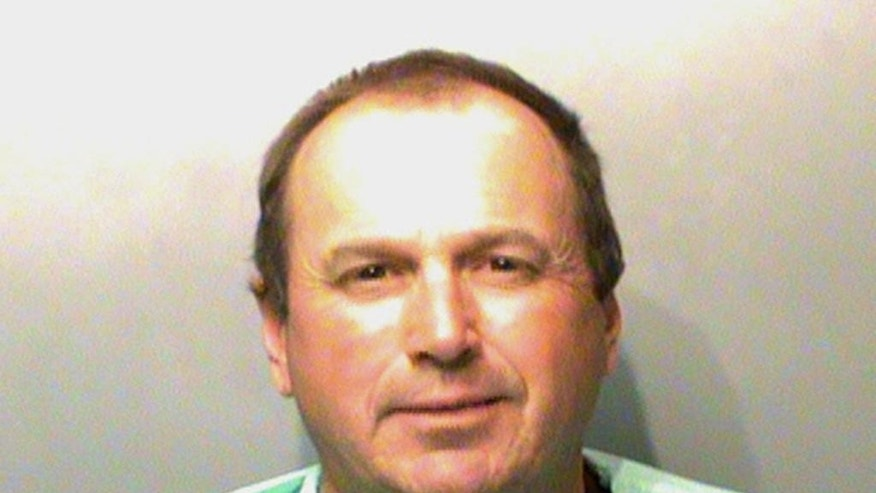 This Wednesday, April 6, 2016 booking photo released by the Polk County Jail in Des Moines, Iowa, shows Tommy Tipton. Tipton turned himself in to face charges that he conspired with his brother, former lottery vendor Eddie Tipton, to win rigged jackpots worth millions of dollars in Oklahoma and Colorado. (Polk County Jail via AP)