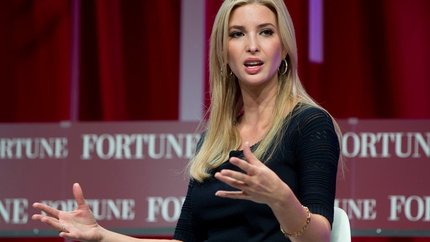 Oct. 14, 2015: Ivanka Trump, daughter of Republican presidential candidate Donald Trump, founder and CEO, Ivanka Trump Collection and executive vice president Development and Acquisitions The Trump Organization, speaks at the Fortune Most Powerful Women Summit in Washington