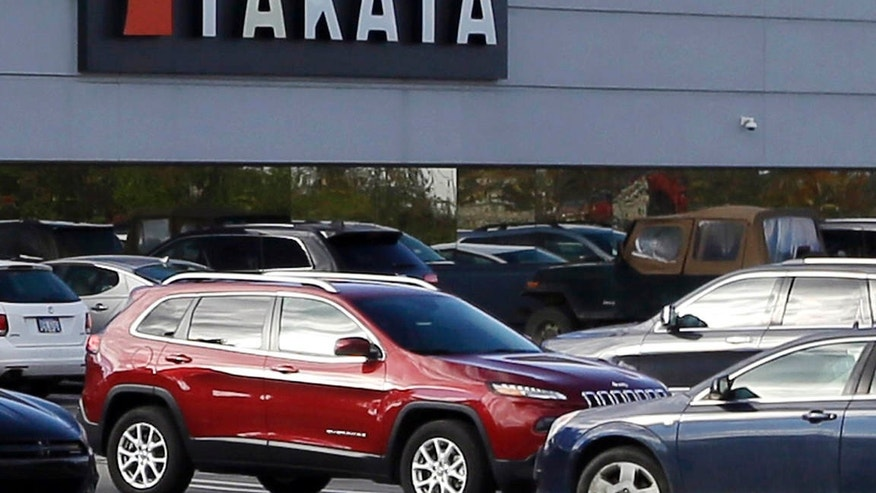 Oct. 22, 2015:  the North American headquarters of automotive parts supplier Takata in Auburn Hills, Mich.