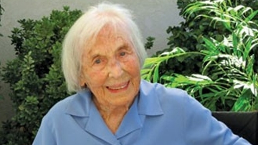 Lynn Balmer is believed to be the oldest living female military veteran.