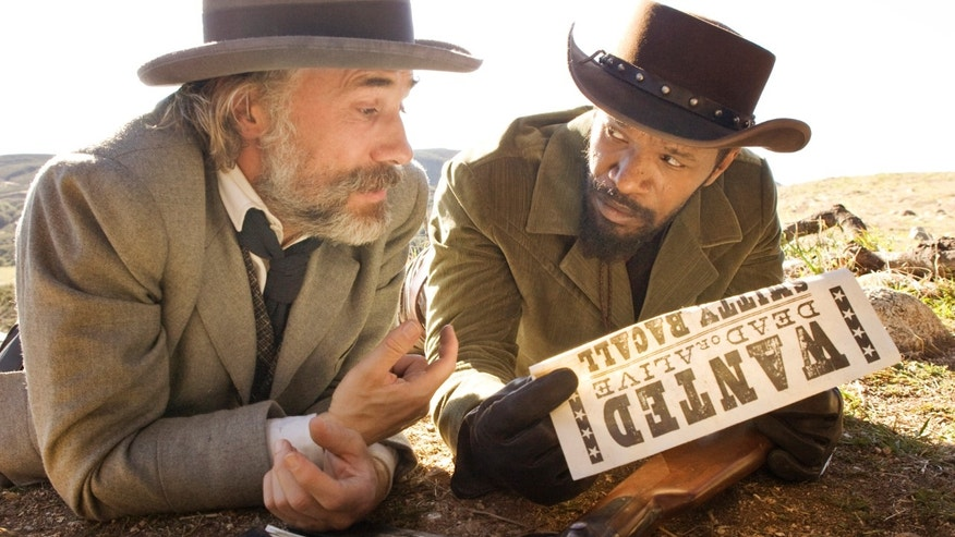"A publicity image for ""Django Unchained."""