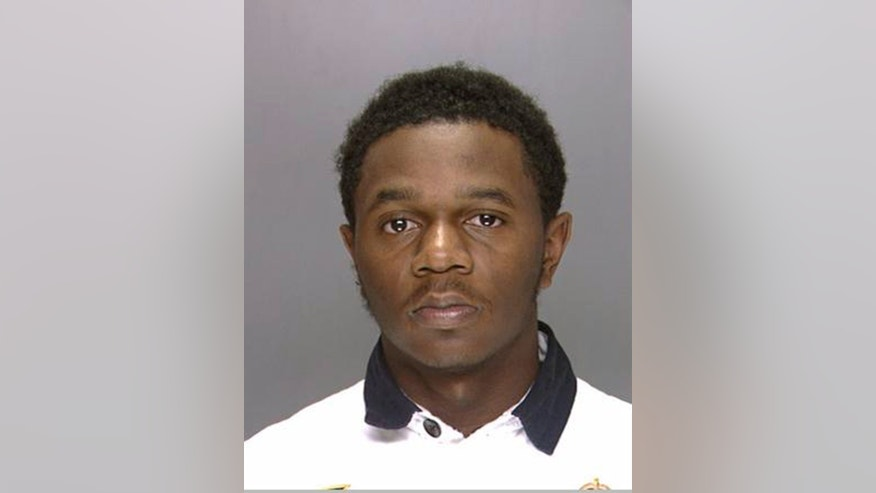 This undated photo provided by the Philadelphia Police Department shows Samir Coyett, who authorities say is a Philadelphia resident arrested after police officer James McCullough was shot while trying to stop a carjacking Sunday, April 17, 2016. Coyett was identified by investigators as one of the robbers, but not the shooter. Coyett faces charges of attempted murder, robbery and related offenses.  (Philadelphia Police Department via AP)