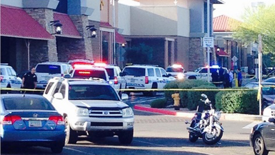 Arizona Walmart 'Ambush' leaves 2 officers shot, suspect dead, TV station says