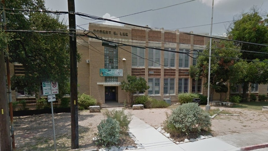 Robert E. Lee Elementary School in Austin.